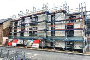 Neubau   Mehrfamilienhaus mit Tiefgarage